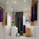 18-baie alba apartament 3 camere stil scandinav