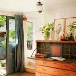 18-birou comoda rustica din lemn masiv mobila hol intrare casa vacanta sef ikea spania