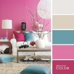 18-decor modern colorat paleta cromatica roz si turcoaz