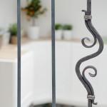 18-element decorativ fier forjat scara interioara garsoniera mansarda
