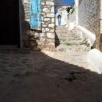 18-intrarea intr-o pensiune pe insula Hydra Grecia