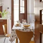 18-loc de luat masa bucatarie moderna 12 mp cu mobila in forma de U