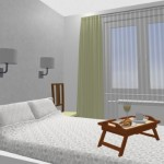 18-pat cu aplice perete si scaune pe post de noptiere dormitor matrimonial Aida
