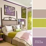 19-combinatii culori vernil lila si violet decor dormitor