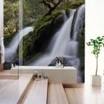 19-foto tapet imagine montana decor perete baie moderna minimalista