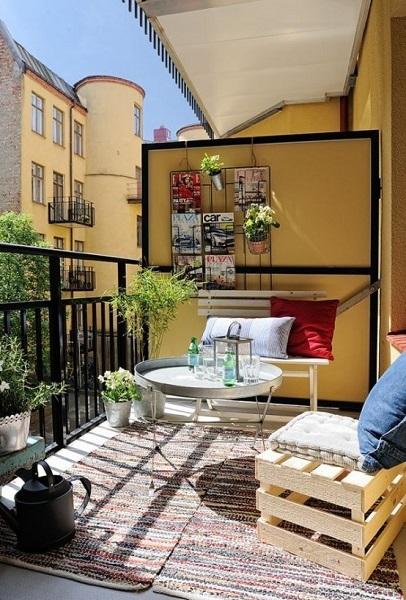 19-mod amenajare balcon mic si cochet