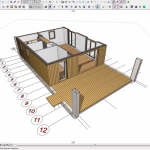 19-randare 3D casa modulara bioclimatica design NOEM Spania