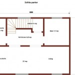 19-schita parter casa construita prin imbinarea popilor din lemn in sistem lego