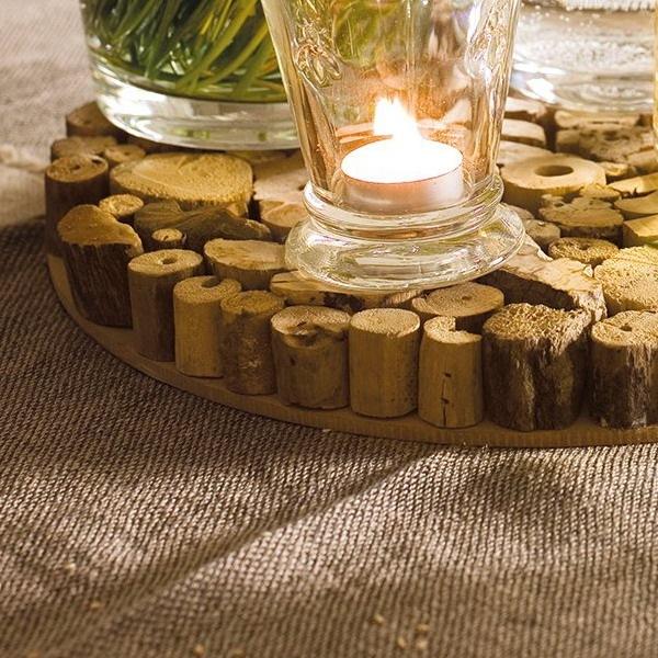 19-suport eco rustic pentru vase si oale fierbinti din bucati de lemn