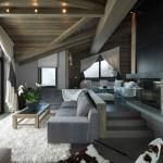 19-zona relaxare living semineu mansarda cabana lux alpi franta