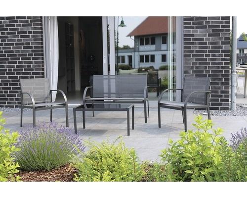 2-Set mobilier gradina Bremen canapea si 2 scaune oferta 2019 Hornbach
