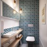 2-baie moderna cu faianta cu imprimeu geometric