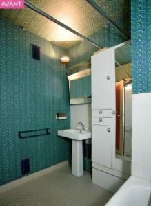 2-baie veche demodata inainte de renovare si reamenajare