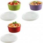 2-boluri colorate cu capac cocina&colore din ceramica magazin kika