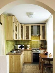 2-bucatarie foarte mica amenajare tip open space cu livingul
