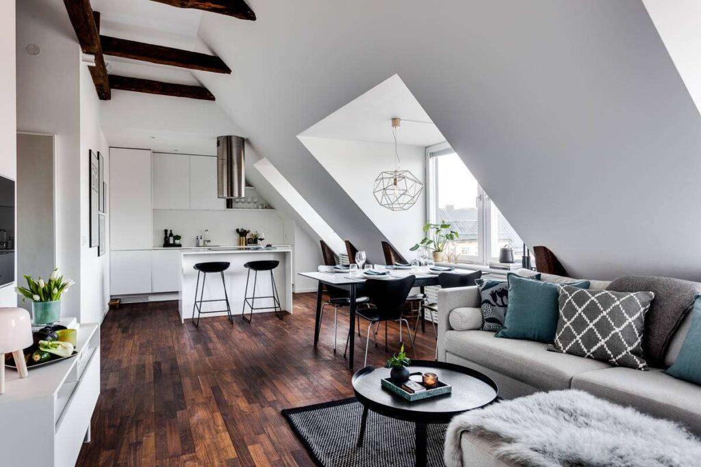 2-bucatarie-living-open-space-apartament-mansarda