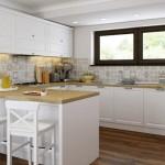 2-bucatarie stil clasic cu peninsula designer Manuel Saliche