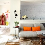 2-canapea living lipita de mobila cu blat de lucru a bucatariei open space