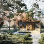 2-casa ecologica prefabricata Arca de 45 mp