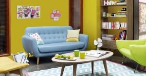 2-colectie de mobilier si accesorii colorate retro in stilul anilor 50 maisons du monde