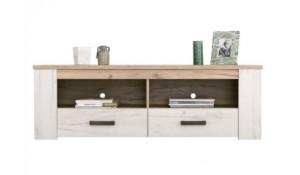 2-comoda TV cu sertare biblioteca living Kent magazin Dedeman