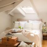 2-decor alb si luminos cu accente culoarea mierii amenajare dormitor