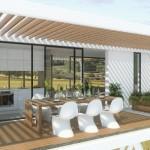 2-dining in terasa casa modulara prefabricata Coodo 64Up