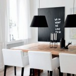 2-dining modern amenajat in alb si negru