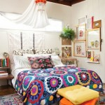 2-dormitor amenajat in stil boem rustic