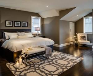 2-dormitor calduros cu pardoseala din dusumea si cu covor