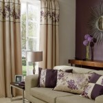 2-draperii-frumoase-decor-living-decorat-in-crem-si-mov