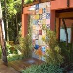 2-dus de vara construit in curtea sau gradina casei