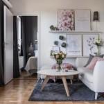 2-exemplu amenajare living scandinav cu accente roz pudrat