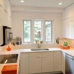 2-exemplu proiectare si amenajare bucatarie de mici dimensiuni cu mobila pana in tavan