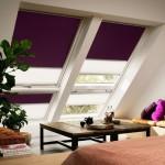 2-ferestre de mansarda tip Velux Cabrio dotate cu rolete textile