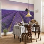 2-fototapet-decorativ-komar-cu-un-camp-de-lavand-decor-dining