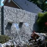 2-gabion de gradina din piatra si plasa pentru cascada artificiala