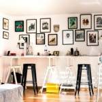 2-galerie foto interior living cu tablouri montate pe pereti
