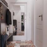 2-idee amenjaare hol mic apartament cu gresie patchwork