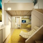 2-imagine de ansamblu dormitor matrimonial cu scara interioara