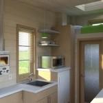 2-interior casa mica mobila de 15 mp cu bucatarie living baie si mini dormitor