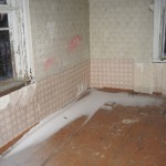 2-interior scoala veche abandonata inainte de a fi transformata in casa