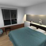 2-interior vizualizare 3D amenajare dormitor cu Sweet Home 3D by MaxHan