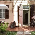 2-intrare casa mica 55 mp Bologna Italia