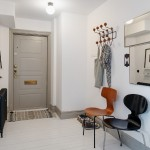 2-intrare hol apartament amenajat in stil rustic scandinav