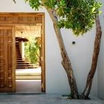 2-intrare in casa de vacanta din insula Vamizi Africa
