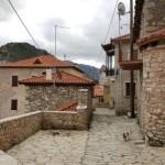 2-intrare intr-o pensiune de munte Dimitsana Grecia