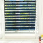 2-jaluzele fotovoltaice SolarGaps montate pe fereastra