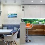 2-living foarte mic cu bucatarie open space idei amenajare