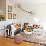 2-living luminos apartament 50 mp Barcelona